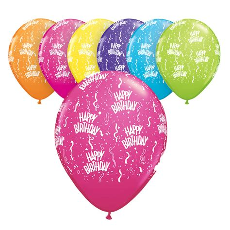 Happy birthday qualatex 11 quot latex balloon assortment party ark