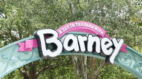 s day in the park a day in the park with barney at universal studios florida