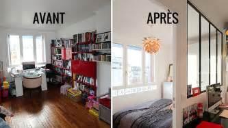 Nice Achat Maison Ile De Re #11: 03E8023208157222-c1-photo-avant-apres-integrer-une-chambre-parentale-avec-verriere-dans-un-salon.jpg