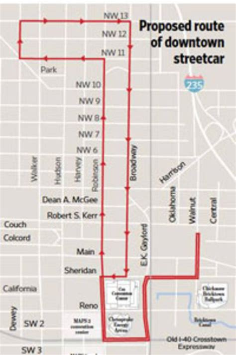 Home Depot Design Jobs Maps 3 Streetcar Preferred Route Presented To Oklahoma