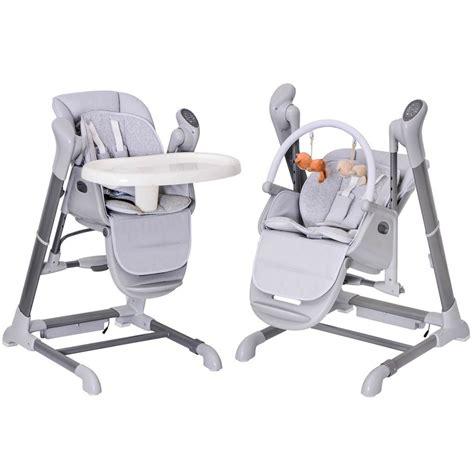 le splity 3 en 1 chaise haute balancelle transat