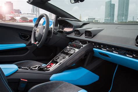 lamborghini huracan inside lamborghini huracan spyder 2015 features equipment