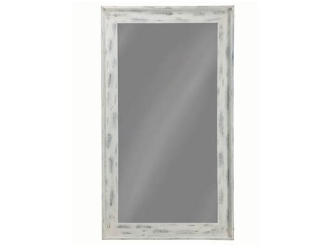 distressed white large floor mirror las vegas furniture