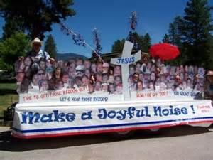 Main Dish Ideas For Potluck - 4th of july parade floats faith chapel