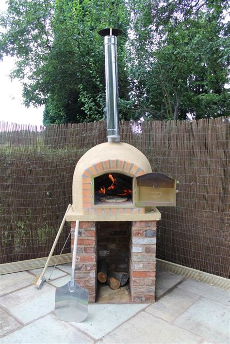 White Wood Fired Oven Plans