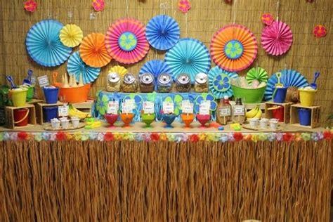 tema para graduacion biblica ideas para decorar una fiesta hawaiana hawaiian party