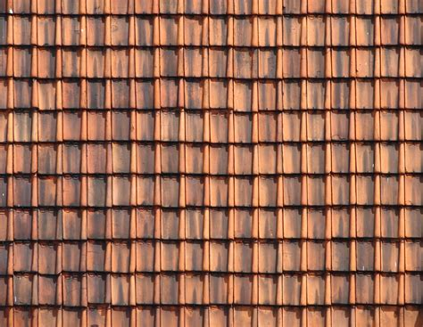 ancient clay roof tiled buildings roof tile texture image background