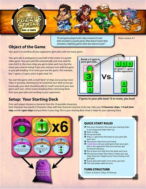 sirlinnet blog puzzle strike rules