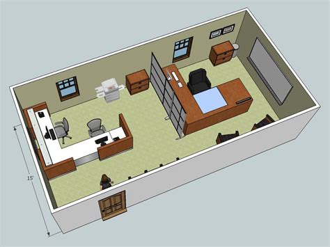layout of the office office office design layout office layout5 800 21107