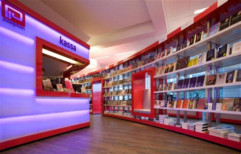 interior design store layout paagman book store design by cube architects