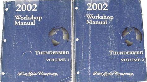 transmission control 2002 ford thunderbird auto manual service manual manual repair autos 2002 ford thunderbird transmission control online auto