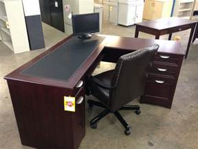 l shaped desk with drawers cpu cabinet pull out keyboard