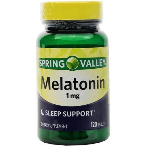 Suplemen Melatonin Valley Melatonin 1mg Dietary Supplement 120ct