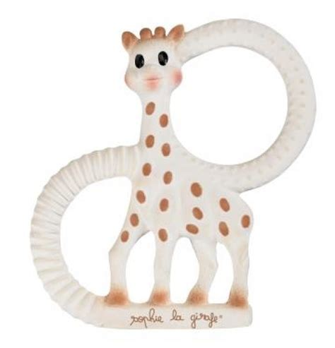 The Giraffe Cool Gel Teething Ring 1 so the giraffe teething ring soft