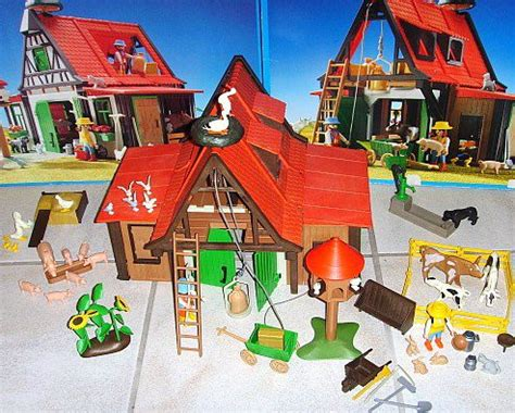 Meuble Pin 3716 by 21 B 194 Timent Basse Cour 3716 Ferme Animaux Playmobil