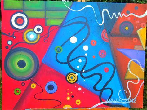 imagenes abstractas de kandinsky mis pinturas abstractas propias proceso y an 225 lisis