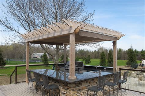pergola outdoor kitchen 5 steps to designing the ultimate outdoor kitchen