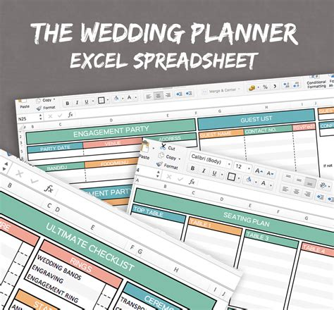 Wedding Planner Spreadsheet by Wedding Planner Spreadsheet Excel Wedding Planner Organise