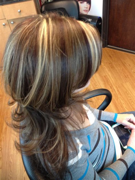 Lowlights For Light Brown Hair by Highlights Lowlights Light Brown Hair With Layers Hair