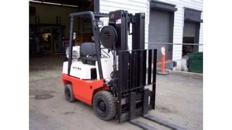 Datsun Forklift Parts by Nissan Datsun F01 3000lb Capacity Interior Lift Truck