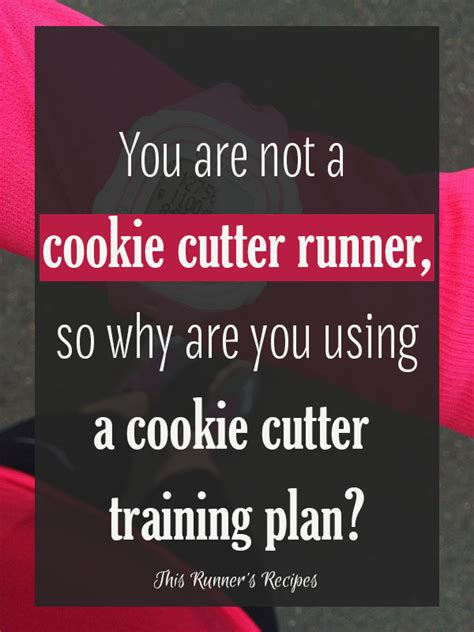 not your average runner why you re not to run and the on how to start today books you re not a cookie cutter runner so stop using a cookie