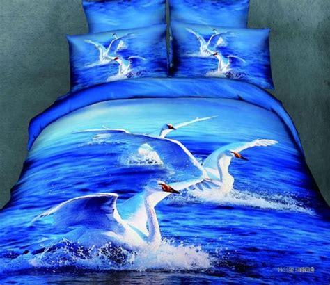Sprei Set Swan In Violet King Size Ukuran 180 X 200 1 5pcs 6kg comforter set 3d bedding set cotton king size bedclothes duvet cover blue
