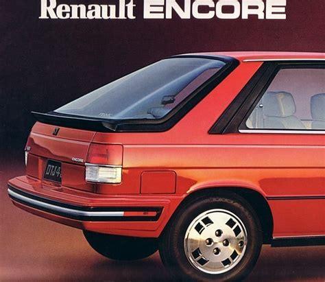 Renault Encore For Sale by 1984 Renault Encore Sales Brochure Catalog And 21 Similar