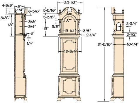 grandfather clock woodworking plans grandfather clock plans search s favorite