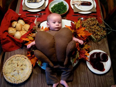 babys thanksgiving adorable baby in a turkey costume my disguises we