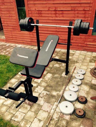 maximuscle bench maximuscle bench and weight package other for sale in portlaoise laois from tomek renke