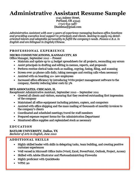 Skills Section On Resume by 20 Skills For Resumes Exles Included Resume Companion