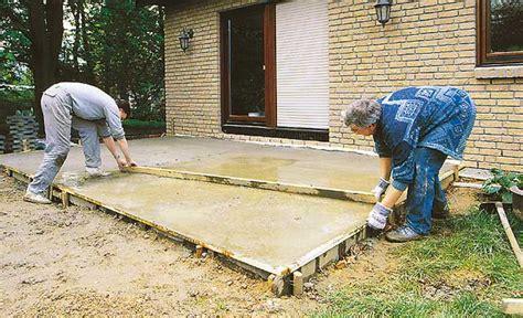 Sockel Betonieren Anleitung by Bodenplatte Fundamente Selbst De