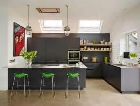 cuisine avec table integr 233 e deco moderne
