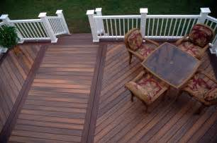 patio material options compare best decking material wood decks vs composite