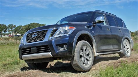 Nissan Suv Trucks by 2017 Nissan Armada Named Suv Of Truck News Top Speed