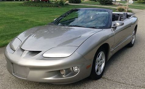 manual cars for sale 2001 pontiac firebird seat position control purchase used 2001 pontiac firebird convertible in granger indiana united states