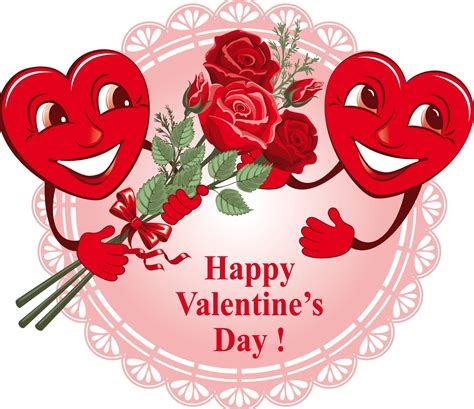 Image result for Happy Valentine's Day Flowers Clip Art