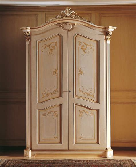 classic wardrobe classic wardrobe with frame top of the 18th century