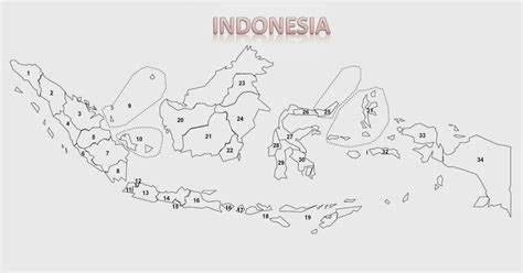 Geografi Jl 1 Ktsp gambar posterinteraktif peta buta indonesia 2013 update