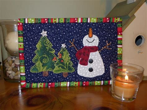 snowman mug rug pattern happy snowman mug rug by sher s patterns quilting pattern