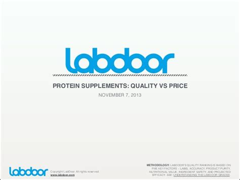 supplement quality protein supplements quality vs price