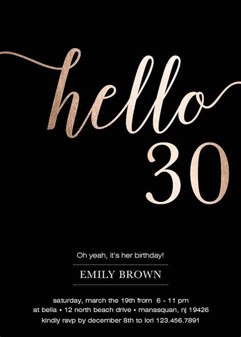 Happy 30th Birthday Card Template by Best 25 30th Birthday Cards Ideas On 30