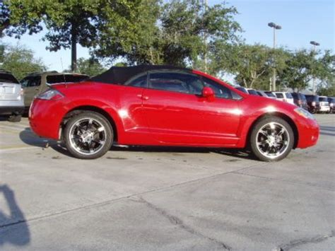 used mitsubishi eclipse spyder convertible for sale buy used 2007 mitsubishi eclipse spyder convertible in
