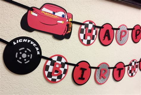 cars birthday banner template cars birthday banner template cars lighting mcqueen and