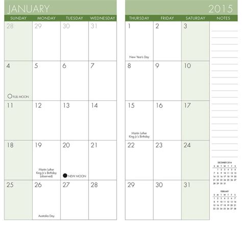Printable Pocket Calendar Onlyagame Pocket Calendar Template 2018