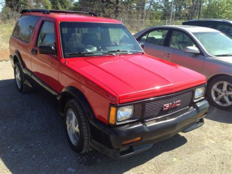 automobile air conditioning service 1992 gmc jimmy electronic valve timing buy used 1992 gmc jimmy typhoon package low mileage original 55k in tulsa oklahoma united states