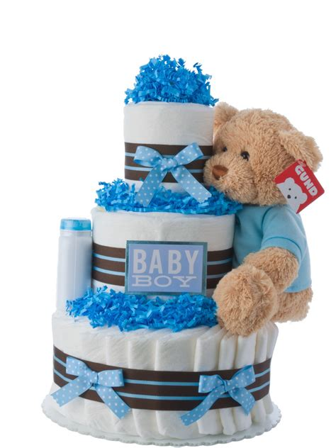 Cake Diapers Baby Shower by Our Lil Boy Cake Baby Shower Cakes