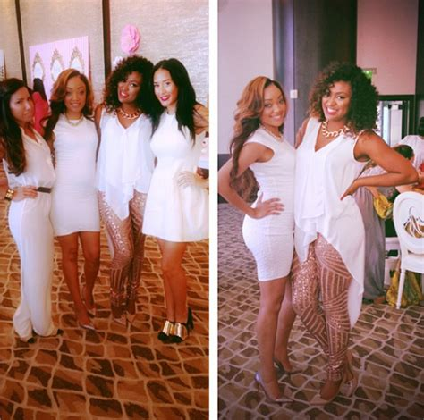 Who Attends Baby Showers by Basketball Adrienne Bosh Attends Baby Shower
