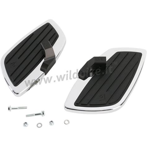 pedane per moto custom pedane comfort cobra swept passeggero per yamaha xvs 950