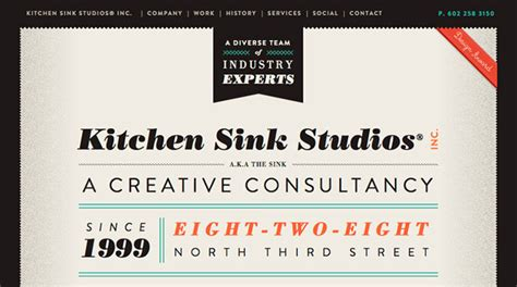 80 Creative Inspiring Single Page Websites Web Kitchen Sink Studios